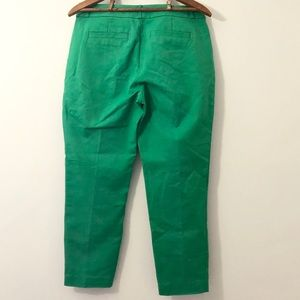 kate spade Pants & Jumpsuits - COPY - Kate Spade Kelly Green Margaux Pants